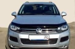Дефлектор капота. Volkswagen Touareg, 7P5 CASA, CASD, CATA, CGEA, CGFA, CGNA, CGRA, CJGD, CJMA, CKDA, CMTA, CNRB, CRCA