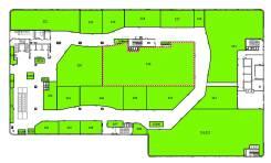 """ТРЦ """"Черёмушки"""" предлагает в аренду торговую площадь во Владивостоке. 495,0кв.м., улица Черемуховая 15, р-н Чуркин. План помещения"""