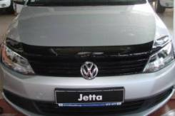 Дефлектор капота. Volkswagen Jetta, 162 CAVA, CAXA, CFNA, CFNB, CFW, CLRA, CMSB, CTHA, CWVA, CZCA, CZDA