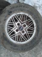 Колесо со старым тойотовским диском bridgestone