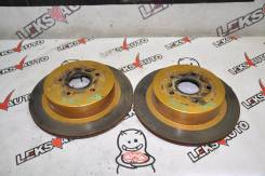 Диски тормозные задние (парой) T. Crown Tom's UZS186 [Leks-Auto 387] 42431-30290