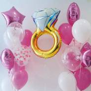 Воздушные шарики(гелиевые шары. Для вашей свадьбы. Доставка бесплатно