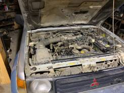Двигатель голый 6G72 24 кл Pajero 2/Pajero Sport 1