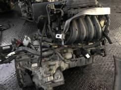 Двигатель Nissan CR12-DE Nissan March AK12 с АКПП и навесным