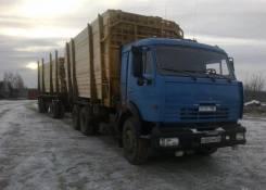КамАЗ 65115. Продаётся Лесовоз с телегой Камаз 65115, 6 700куб. см., 35 000кг., 6x4