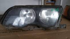 Фара левая BMW 3 E46