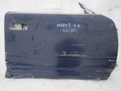 Продам переднюю правую дверь Toyota Mark2 GX90