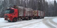 Sisu. Лесовоз сортиментовоз Сису () с манипулятором, 18 130куб. см., 25 000кг., 6x4