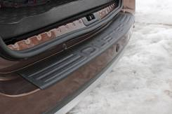 Русская Артель NRD025702. Накладка на задний бампер Renault Duster. Renault Duster, HSA, HSM F4R, K4M, K9K