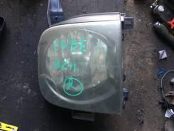 Фара правая Nissan Cube 11 номер оптики 17-12