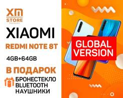 Xiaomi Redmi Note 8T. Новый, 64 Гб, 3G, 4G LTE, Dual-SIM, NFC