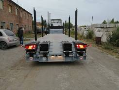 ЧелябДорМаш. Раздвижной низкорамный трал 3 оси 40 тонн ЧДМ 943834-0000010R, 40 000кг. Под заказ