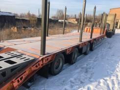 ЧелябДорМаш. Раздвижной низкорамный трал ЧДМ (4 оси, 50 000 кг), 50 000кг. Под заказ