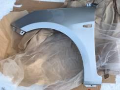 Новое окрашенное крыло (серебристое / RHM) Hyundai Solaris 11-17г
