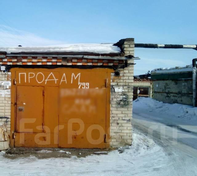 Продам гараж в а/к Волочаевка 1. р-н Центральный, 18,0кв.м., электричество, подвал.
