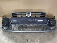 Volkswagen Tiguan II 17- Бампер передний в сборе б/у 5NR807221