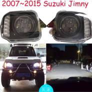 Фары диодные линзовые черные для Suzuki Jimny 07-15г