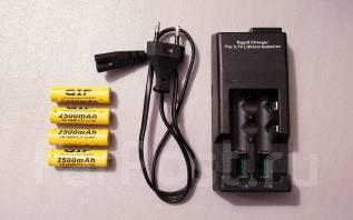 Аккумуляторы и зарядные устройства.