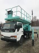 Aichi. Автовышка платформа Isuzu ELF TZ12, 4 600куб. см., 12,00м.