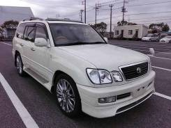 Рейлинги. Toyota Land Cruiser Cygnus, UZJ100W