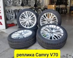 """New, Toyota Camry V70, 235-45-18 в наличии. 8.0x18"""" 5x114.30 ET45 ЦО 60,1мм."""