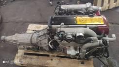 Двигатель в сборе с АКПП 1JZ-GTE JZX110 7076 [Customs Garage]
