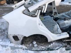 Крыло правое заднее цвет белый 040 Toyota Prius NHW20
