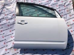 Дверь правая передняя цвет белый 040 Toyota Prius NHW20