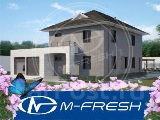 M-fresh Pallada (Готовый проект высоконадежного каменного коттеджа! ). 200-300 кв. м., 2 этажа, 5 комнат, бетон