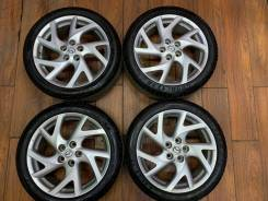 """Летние колеса R18 для Mazda 6 / Мазда 6 оригинал. 7.5x18"""" 5x114.30 ET60 ЦО 67,1мм."""