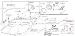 Фара левая Subaru Legacy/Outback BP BL рестайлинг в сборе Новая!