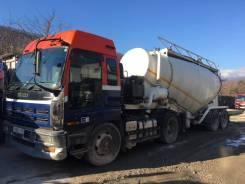 Gurlesenyil. Продаётся цементовоз с седельным тягачом, 29 500кг.