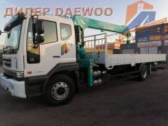 Daewoo Novus. c КМУ HKTC 7016 (7,0т), 8 000кг., 4x2