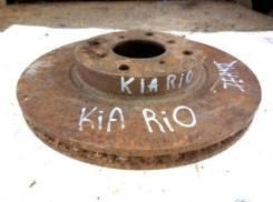 Диск тормозной передний вентилируемый KIA RIO 1