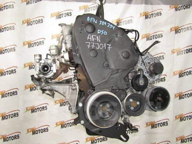 Контрактный двигатель VW Caddy Golf Passat Polo Sharan Vento 1.9TD AFN