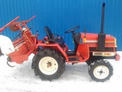 Yanmar. Мини-трактор F13D +фреза, 13 л.с.
