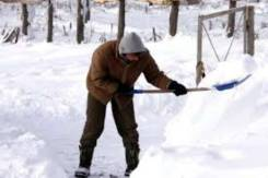 Уборка снега от 245 рублей час