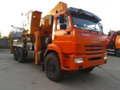 Hansin HS 4570 Plus. АГП Камаз 43118-3027-50 (Евро-5) + Hansin HS4570G 45м.