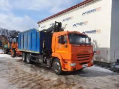 Palfinger. КМУ Ломовоз КамАЗ-65115 кузов 29 куб V-28. б/у, 6x4
