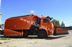 KDM. КДМ-7881.01 на самосвале КамАЗ-6520 (Комплектация № 16). Под заказ