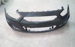 Новый оригинальный бампер Hyundai Solaris 11-14г