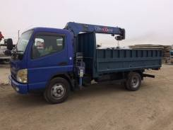 Mitsubishi Fuso Canter. Продам бортовой грузовик с манипулятором, 5 200куб. см., 5 000кг., 6x2