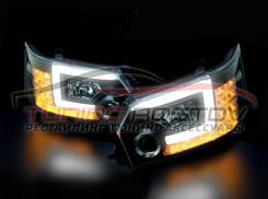 Фары темные Toyota Hiace 200 2014-2019 Taiwan