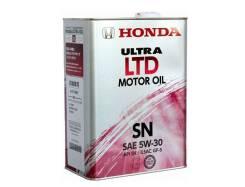 Honda Ultra Ltd. 5W-30, синтетическое, 4,00л.