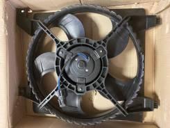 Диффузор радиатора в сборе Hyundai Accent 06
