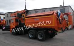 KDM. КДМ-650-05 на самосвале КамАЗ-65115 (Комплектация № 6). Под заказ