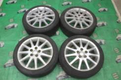 Разноширокие диски Toyota R17 Altezza резина Bridgestone Ecopia PZ-X