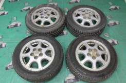 Оригинальные диски Toyota Mark II jzx 90 R15 летняя резина Goodride