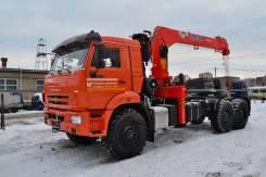 Kanglim KS1256G-II. Продается седельный тягач камаз 43118 с кму kanglim 1256, 12 000куб. см., 9 010кг., 6x6