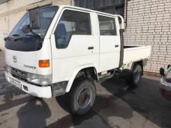 Toyota ToyoAce. Продам Мостовой Рессорный 4Х4 грузовик на Автомате, 2 800куб. см., 1 500кг., 4x4